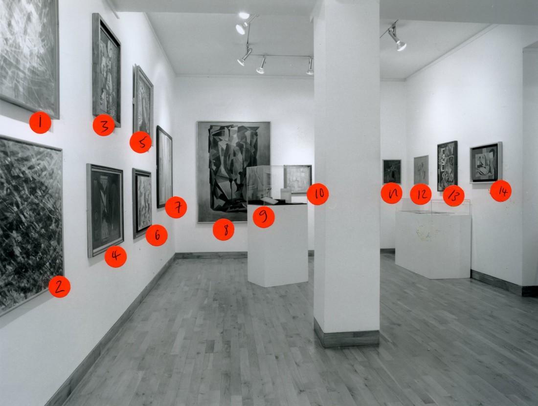 <p>SURREALISM IN BRITAIN Installation View</p>