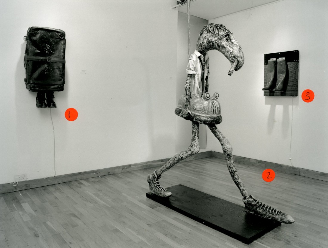 <p>PATRICK O'REILLY Installation View</p>
