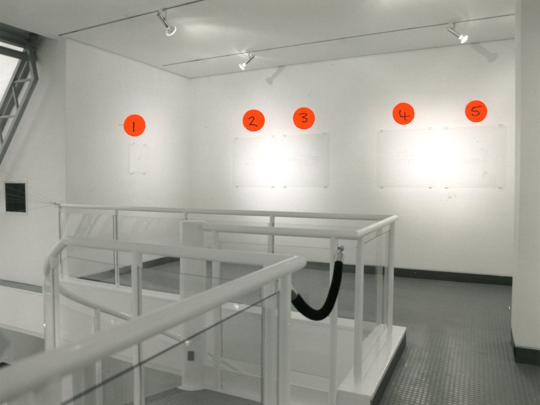 <p>JANE MULFINGER Installation View</p>