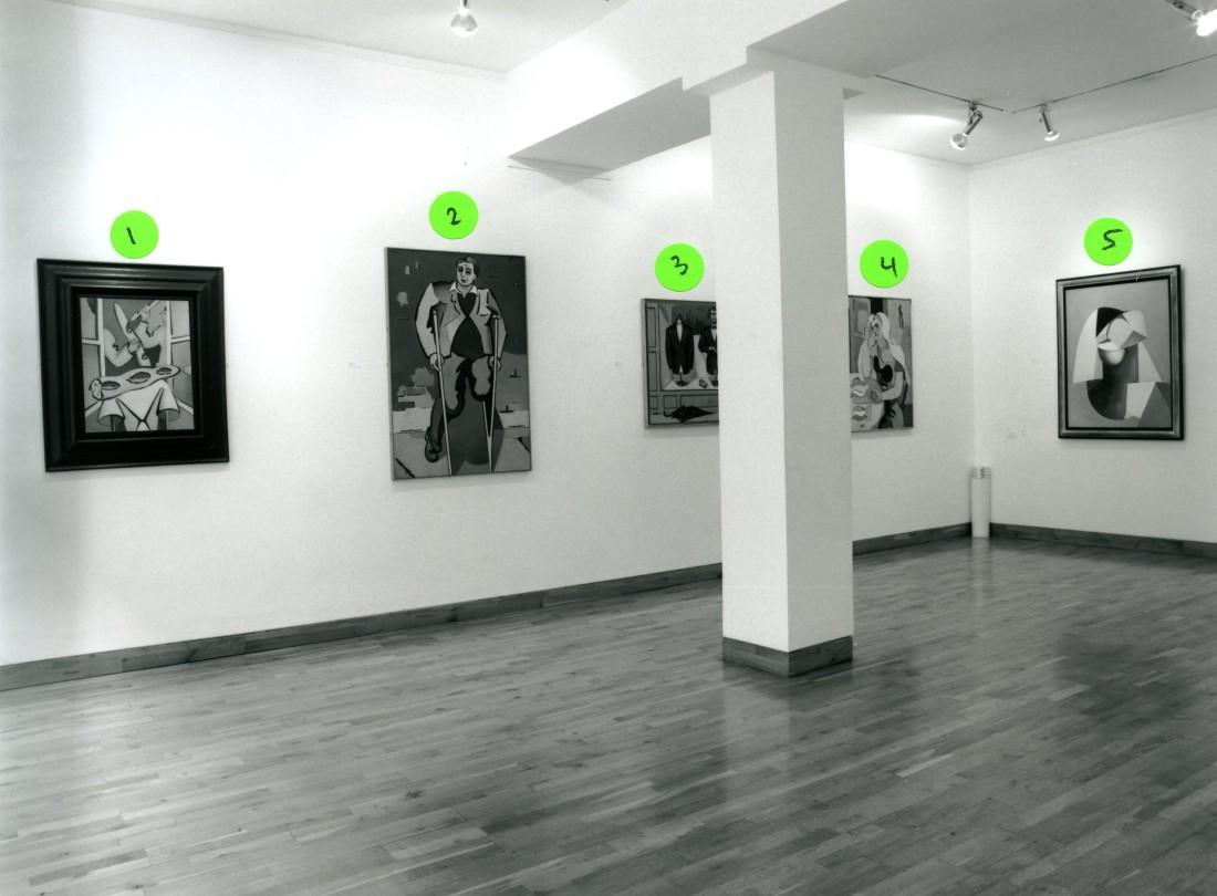 <p>JEAN HELION Installation View</p>
