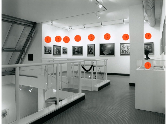 <p>E. L. T. MESSENS Installation View</p>
