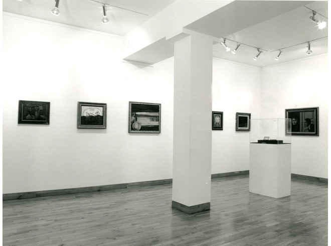 <p>FACES AND PLACES Installation View</p>