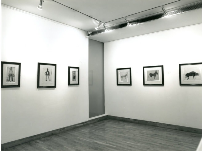<p>TWO OUTSIDERS Installation View</p>