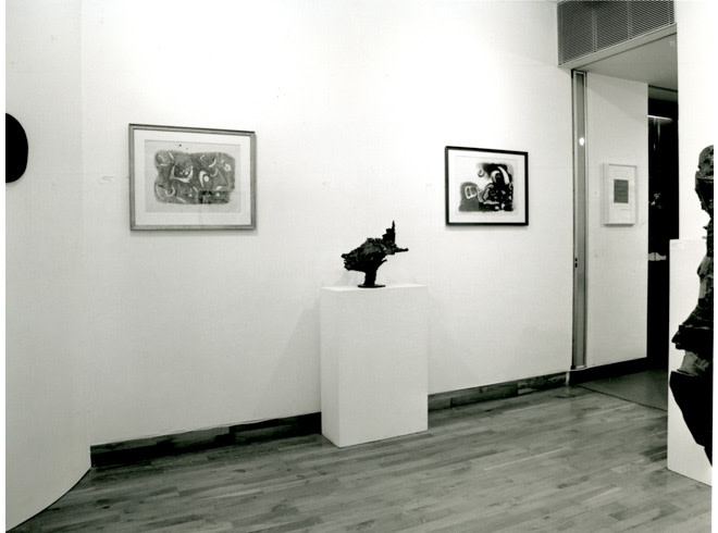 <p>SCULPTORS AND THEIR DRAWINGS Installation View</p>