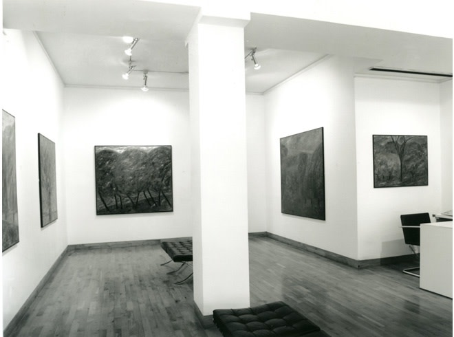 <p>JOHN D. EDWARDS Installation View</p>