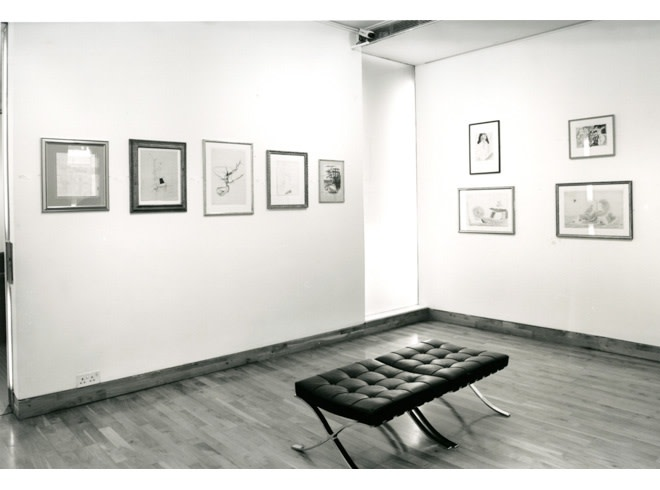 <p>DADA AND SURREALIST WORKS ON PAPER Installation View</p>