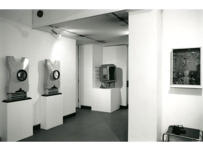 <p>NEIL FRASER Installation View</p>