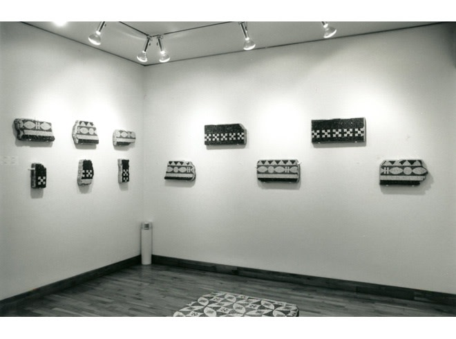<p>EARLY ABSTRACTION Installation View</p>