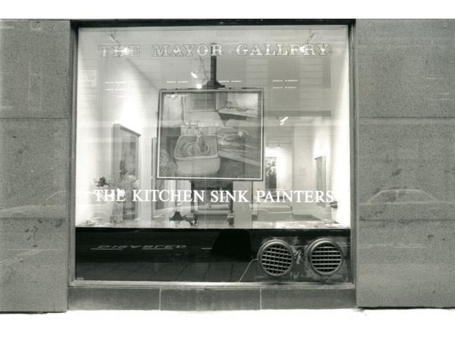 <p>THE KITCHEN SINK Installation View</p>