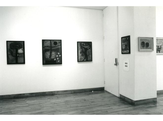 <p>DESMOND MORRIS Installation View</p>