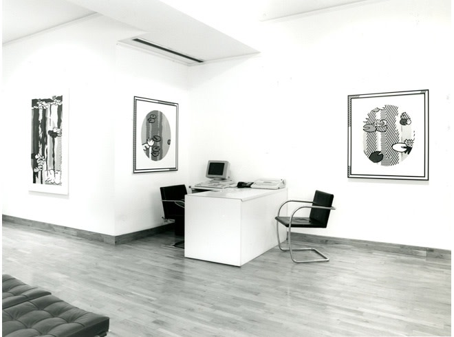 <p>ROY LICHTENSTEIN Installation View</p>