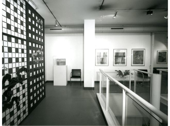 <p>BRIAN CLARKE Installation View</p>