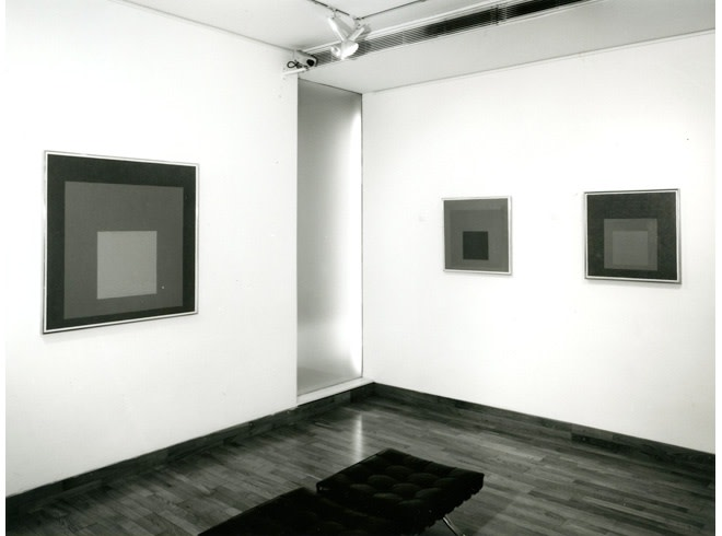 <p>JOSEPH ALBERS Installation View</p>