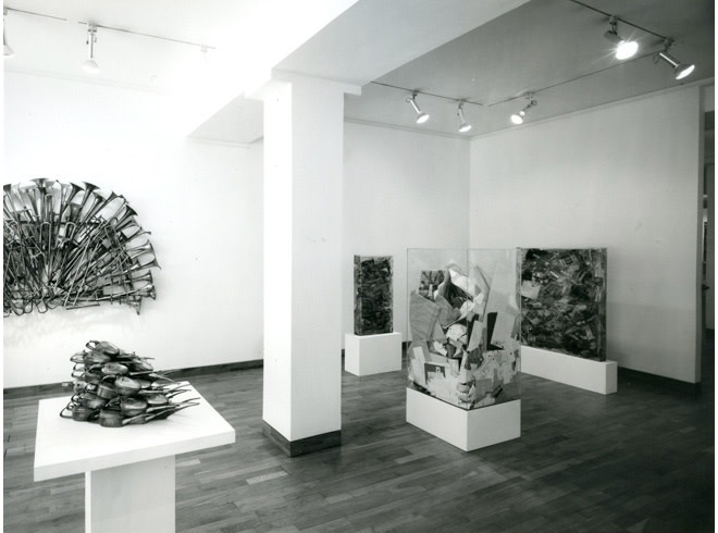 <p>ARMAN Installation View</p>