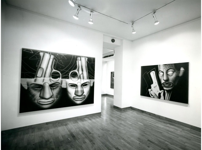 <p>ED PASCHKE Installation View</p>