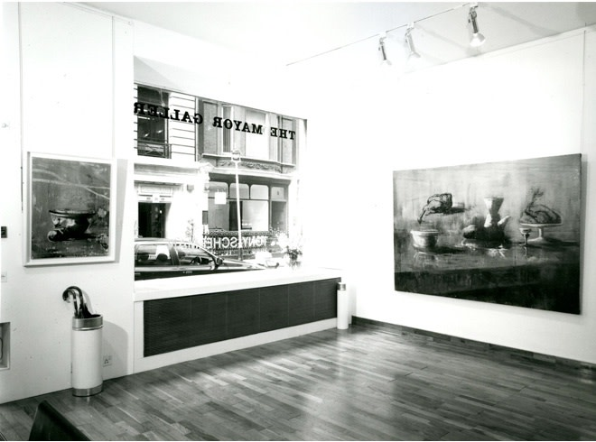 <p>TONY SCHERMAN Installation View</p>
