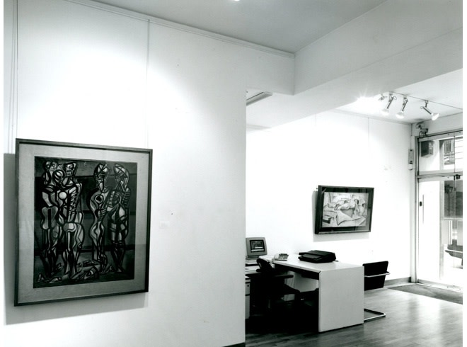 <p>MERLYN EVANS Installation View</p>
