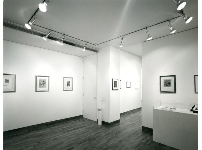 <p>THE GOLDEN AGE OF COLLAGE Installation View</p>