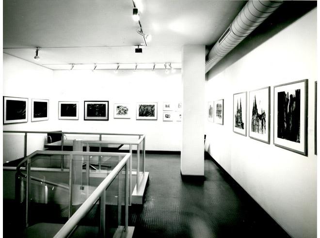 <p>DAVID BOMBERG Installation View</p>