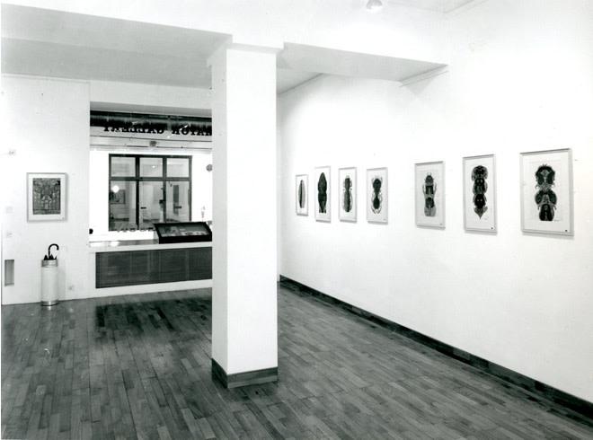 <p>SCOTTIE WILSON Installation View</p>