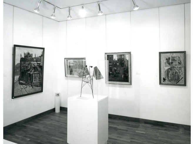 <p>RECENT ART ACQUISITIONS, CARTWIGHT HALL & BRADFORD Installation View</p>
