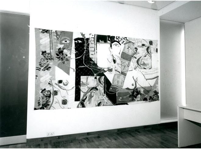 <p>ROBERT KUSHNER Installation View</p>