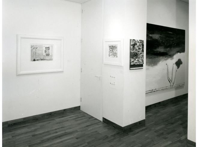 <p>NICOLA DE MARIA Installation View</p>