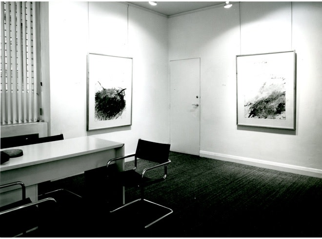 <p>CY TWOMBLY Installation View</p>