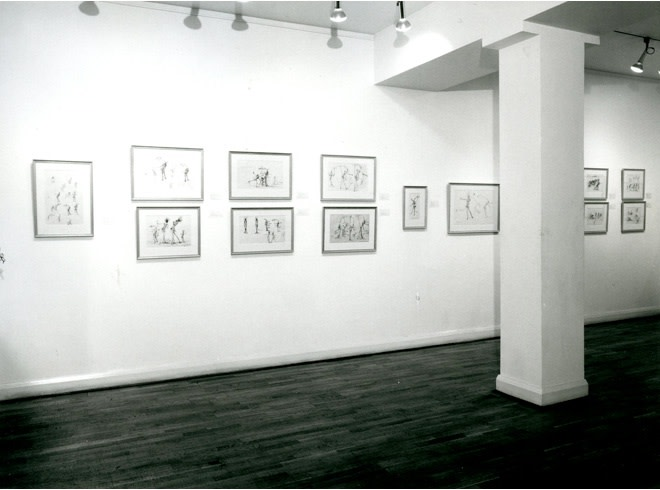<p>FIFTY DRAWINGS BY SALVADOR DALI Installation View</p>