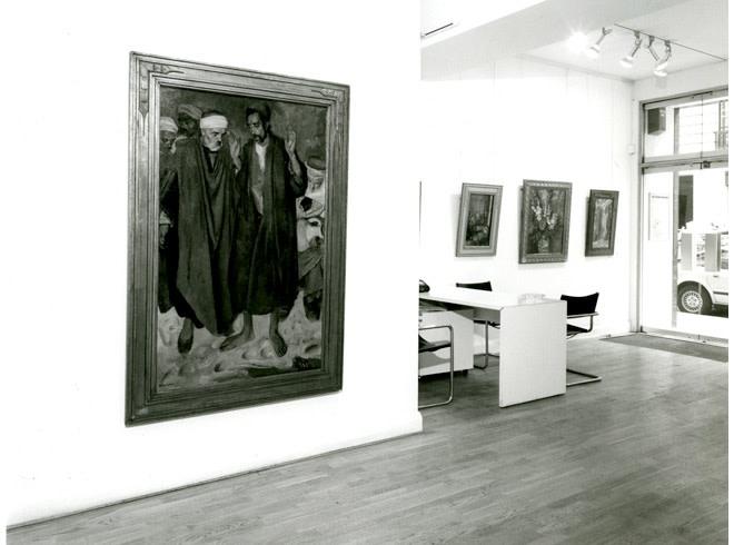 <p>ALFRED WOLMARK Installation View</p>
