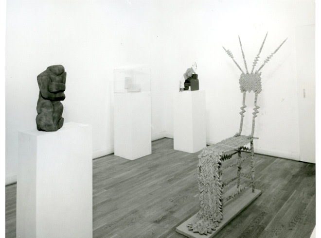 <p>SCULPTURE THEN AND NOW Installation View</p>