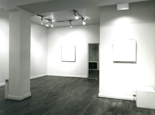 <p>ROBERT RYMAN Installation View</p>