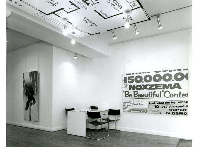 <p>JAMES ROSENQUIST Installation View</p>