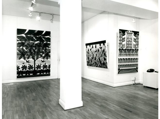 <p>ROGER BROWN Installation View</p>