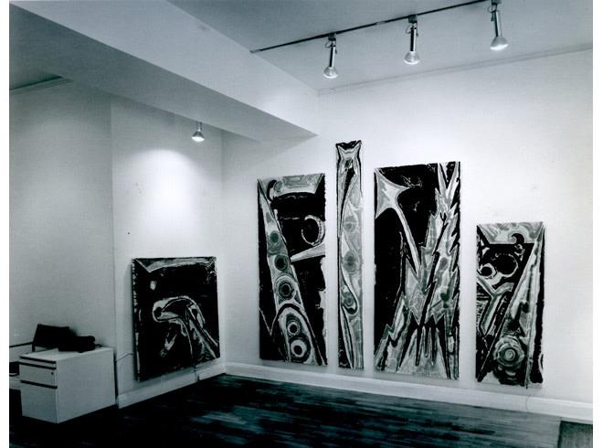 <p>JOE ZUCKER Installation View</p>