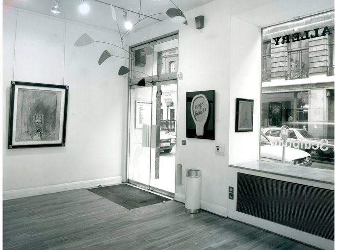 <p>MAJOR PAINTINGS AND SCULPTURE Installation View</p>