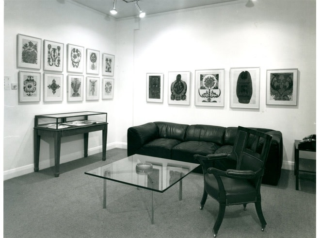 <p>THE PENROSE COLLECTION OF WORKS BY SCOTTIE WILSON Installation View</p>
