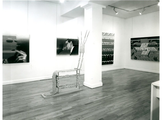 <p>SIX ARTISTS FROM CHICAGO Installation View</p>