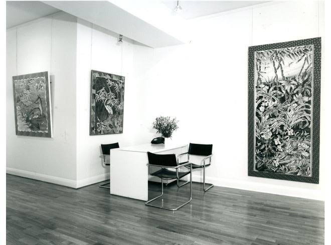 <p>BRAD DAVIS Installation View</p>