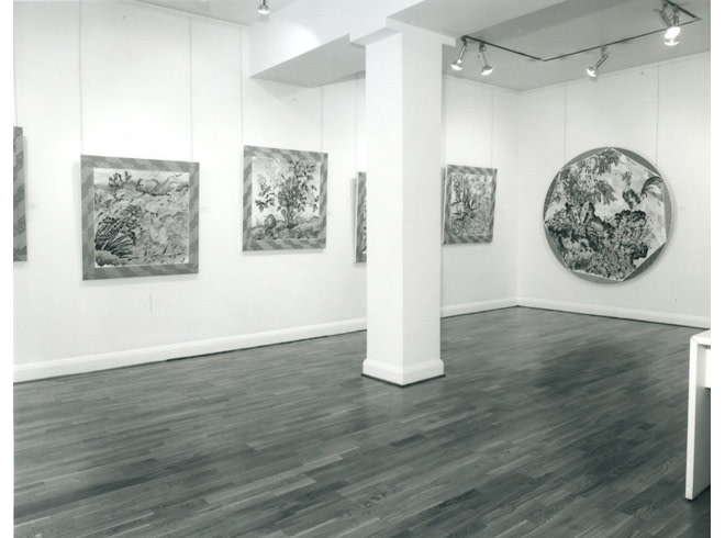 <p>BRAD DAVIS Installation View</p>
