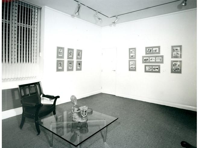 <p>EDWARD ARDIZZONE Installation View</p>