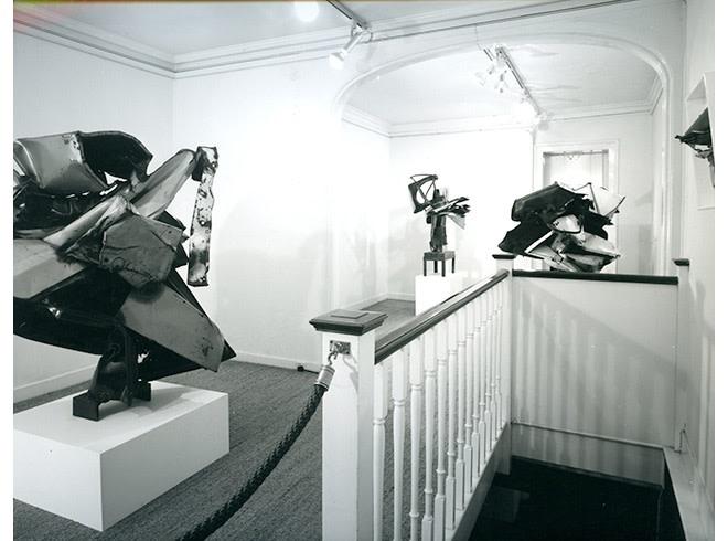 <p>JOHN CHAMBERLAIN Installation View</p>