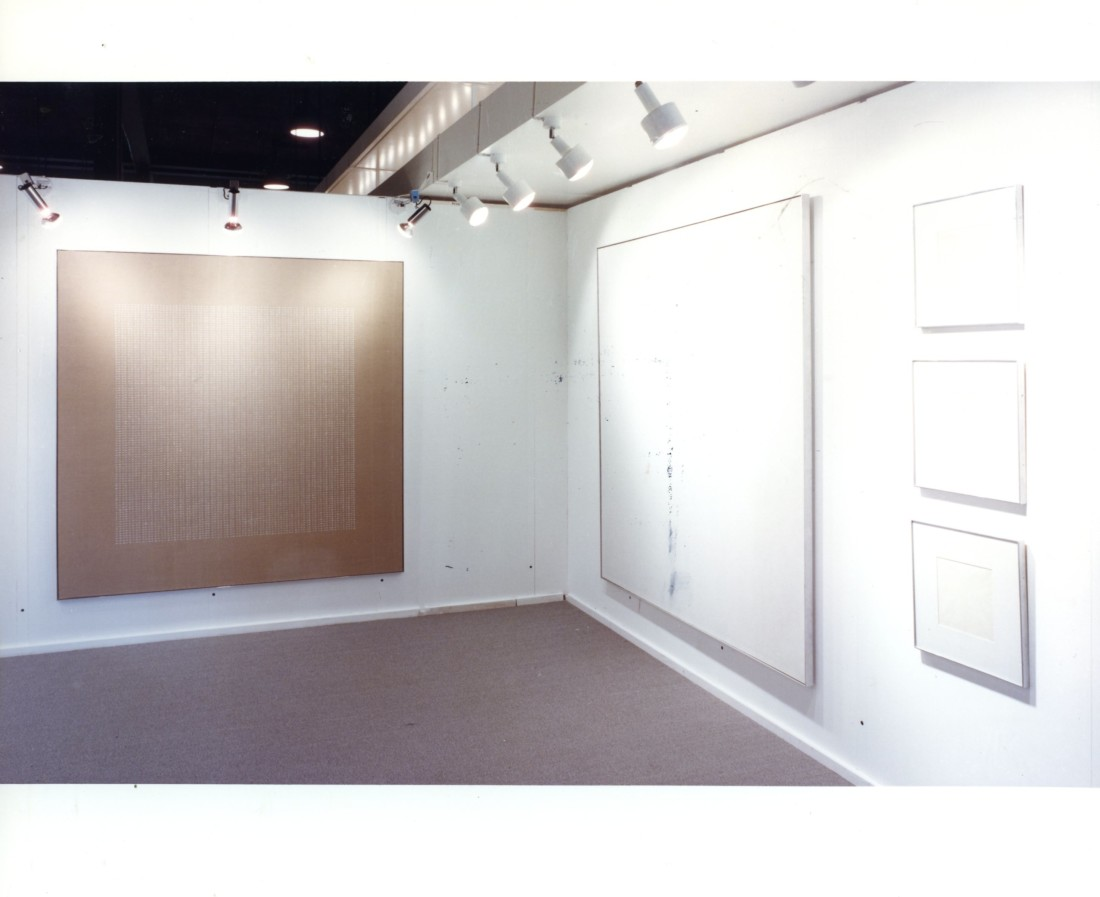 <p>AGNES MARTIN Installation View</p>