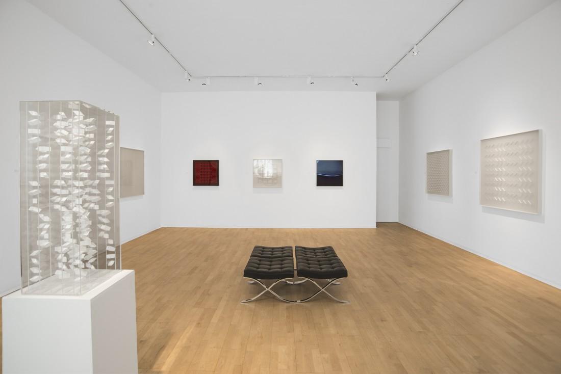 <p>KLAUS STAUDT Installation View</p>