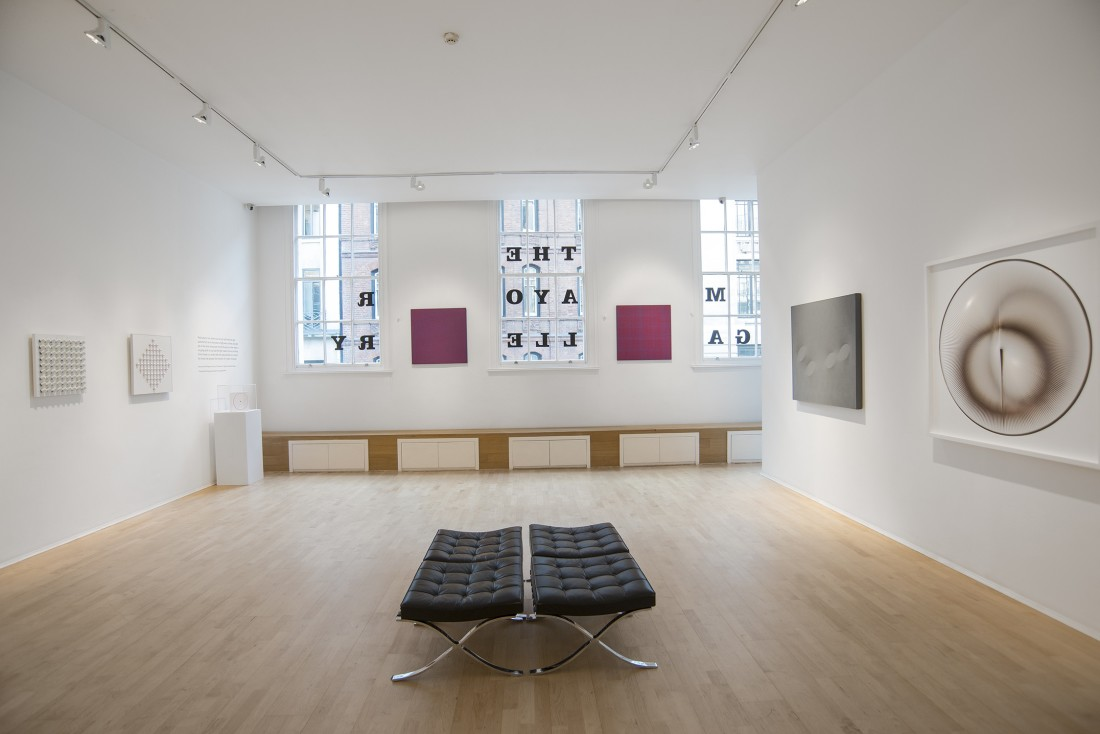 <p>THE ARCHERS OF LIGHT Installation View</p>