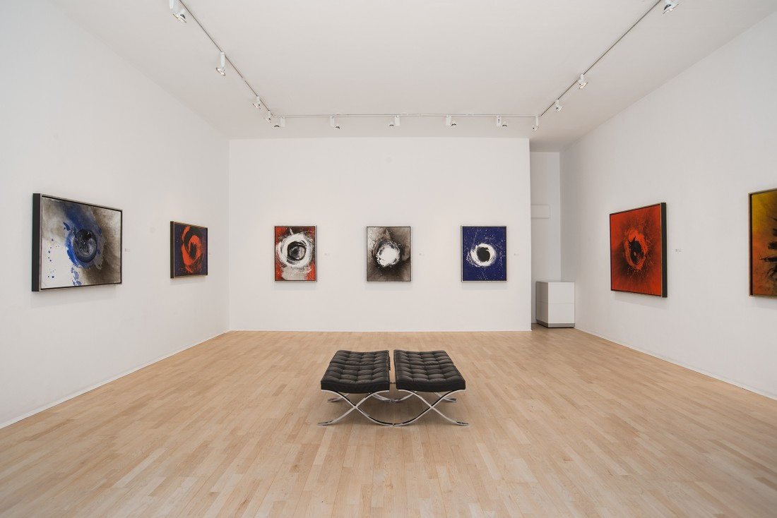 <p>OTTO PIENE Installation View</p>