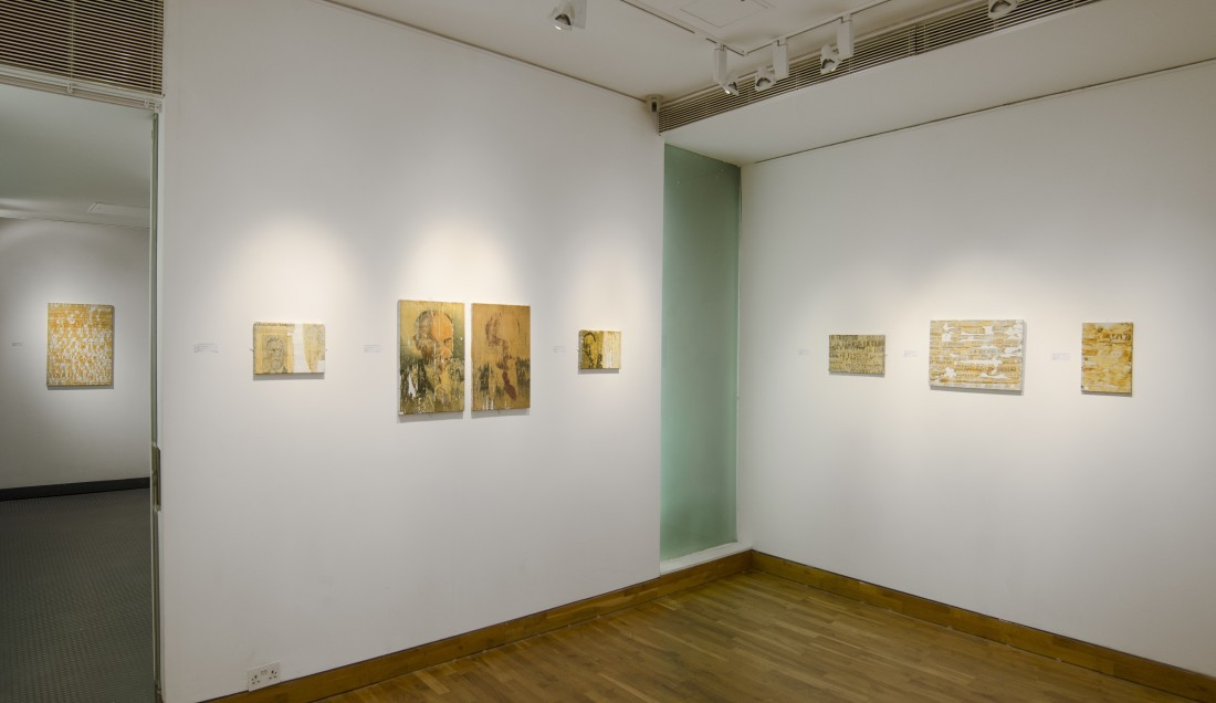 <p>VILLEGLE/WOLMAN Installation View</p>