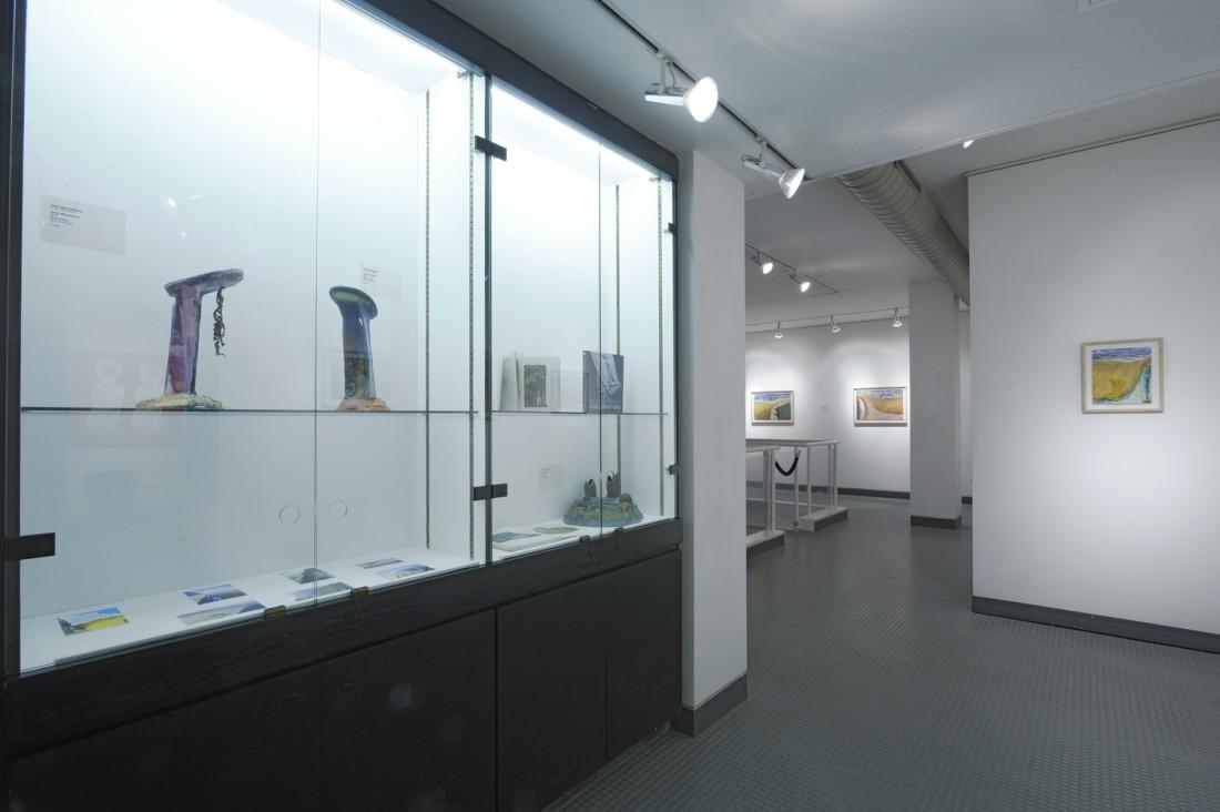 <p>IVOR ABRAHAMS RA Installation View</p>