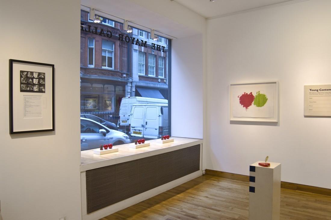 <p>BILLY APPLE Installation View</p>