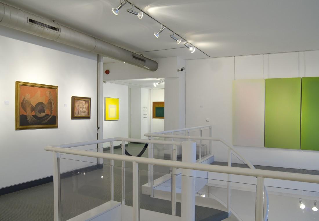 <p>ANNE APPLEBY & KUNO GONSCHIOR Installation View</p>
